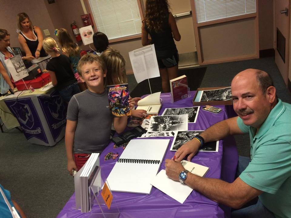 Hope Elementary book signing